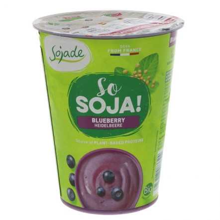 Sojade Blissful Blueberry Soya Yoghurt with Live Culture