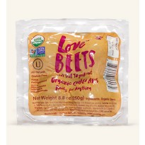 Organic Cooked Beetroot 250g
