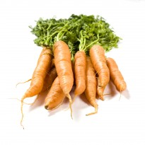 Organic Carrots With Tops