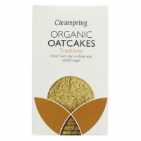 Clearspring Organic Traditional Oatcakes