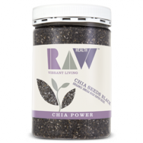 Raw Health Organic Chia Seeds - Black