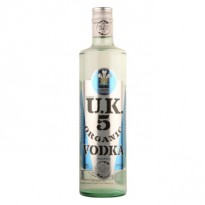 Utkins UK5 Organic Vodka 70cl