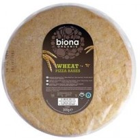 Biona Wheat Pizza Bases 2 pack 300g
